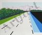 Joan Melnick, Swiss Road, Serigraph, Joan Melnick, Click for value