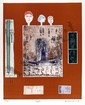 Mireille Kramer, Egyptian, Aquatint Etching, Mireille Kramer, Click for value