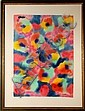 Max Epstein, Abstract, Watercolor on Paper, Max Epstein, Click for value