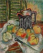 Laurent Marcel Salinas, Nature Morte, Oil Painting, Marcel Charles Laurent Salinas, Click for value