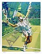 Jim Jonson, Tennis Serve, Lithograph, Jim Jonson, Click for value