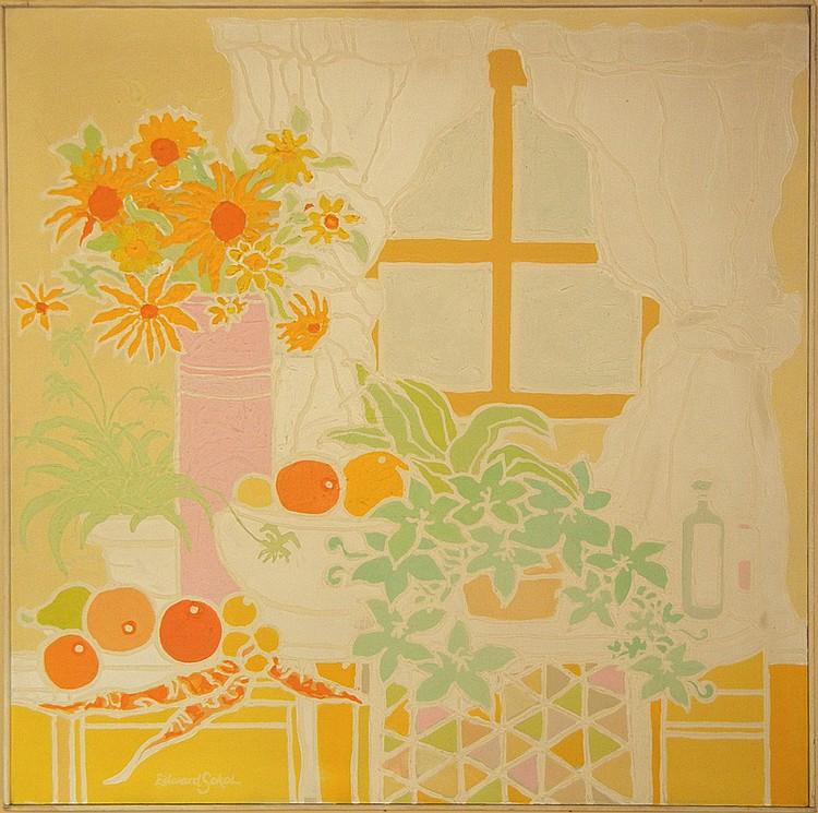 Edward Sokol, Summertime, Painting