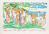 Bob Kane, St. Tropez, Lithograph, Bob Paul Kane, Click for value
