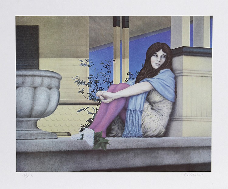 Robert Anderson, Robin's Summer Dream, Lithograph