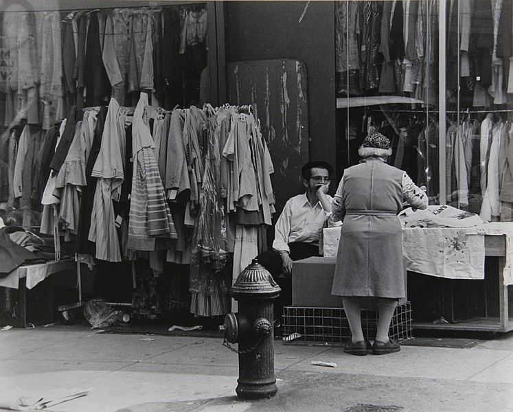 Theodore Cohen, Jewish Marketplace, Photograph