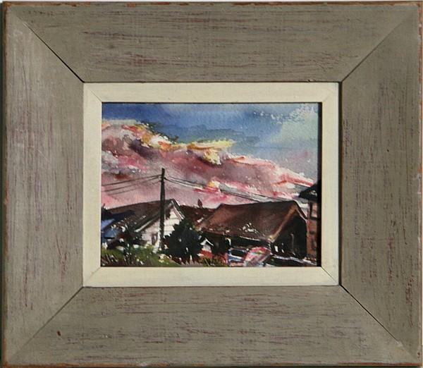 Edith Bry, Fire Island 2, Watercolor