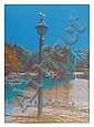 Max Epstein, Seagull on a Lantern, Serigraph, Max Epstein, Click for value