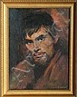 Sandu Liberman, Portrait of a Young Man, Oil Painting, Sandu Liberman, Click for value