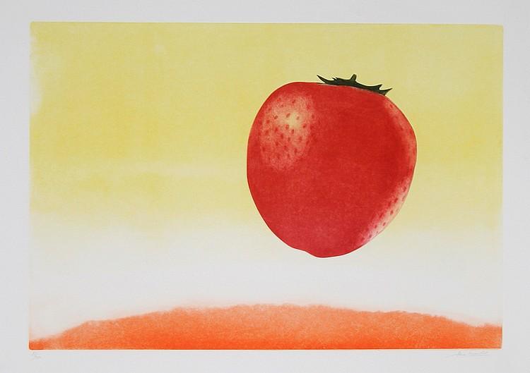 Hank Laventhol, Strawberry, Aquatint Etching