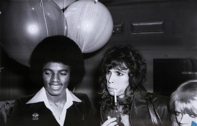 Allen Tannenbaum, Michael, Steven, and Goldie at Studio 54, Photograph