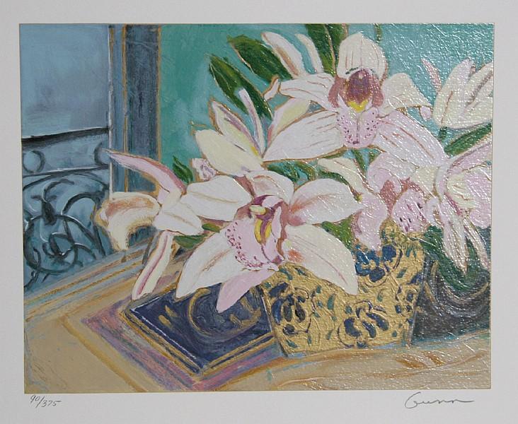 Ellen Gunn, Petite Fleur Suite III, Silkscreen