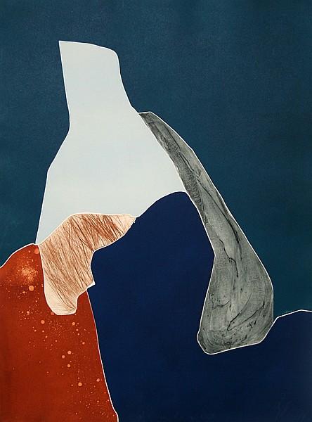 Gilou Brillant, Abstract Aquatint Etching