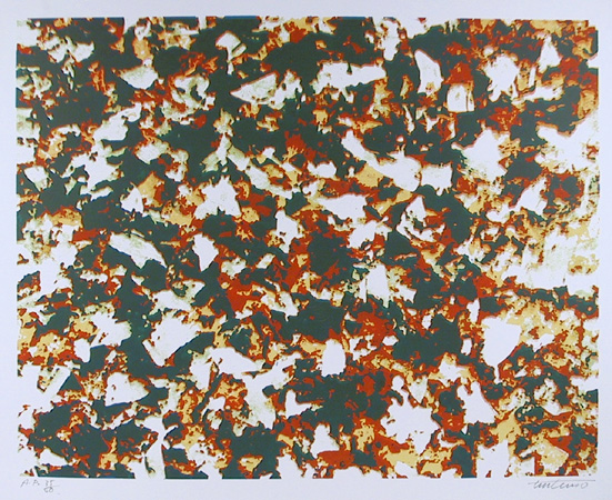 Domenick Turturro, Winds White Leaves, Silkscreen