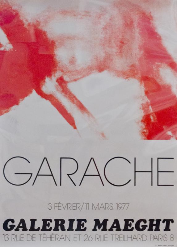 Claude Garache-Roland Garros French Open-1990 Lithograph