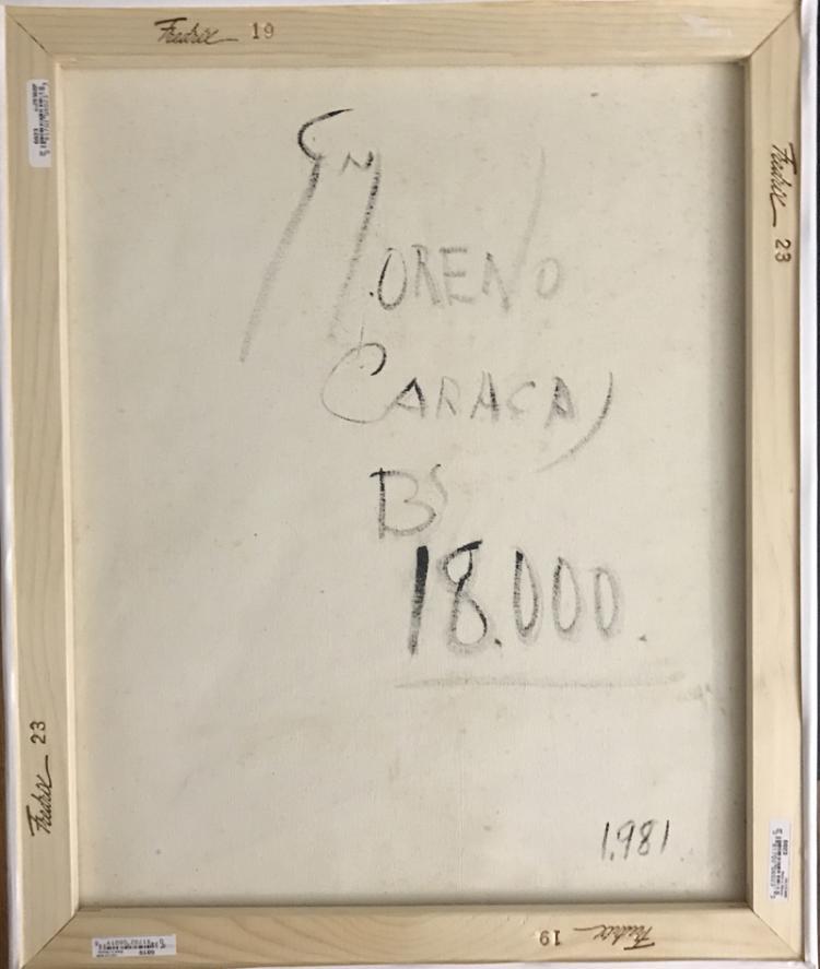 Genaro Moreno, Kinetic Energy, Acrylic Painting