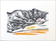 Carme Garces, Landscape No. 4, Lithograph