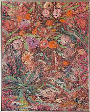 Biagio Civale, Flowery, Mixed Media Painting