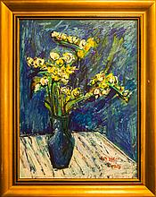 Dumitru Ivan, Fresias, Acrylic Painting