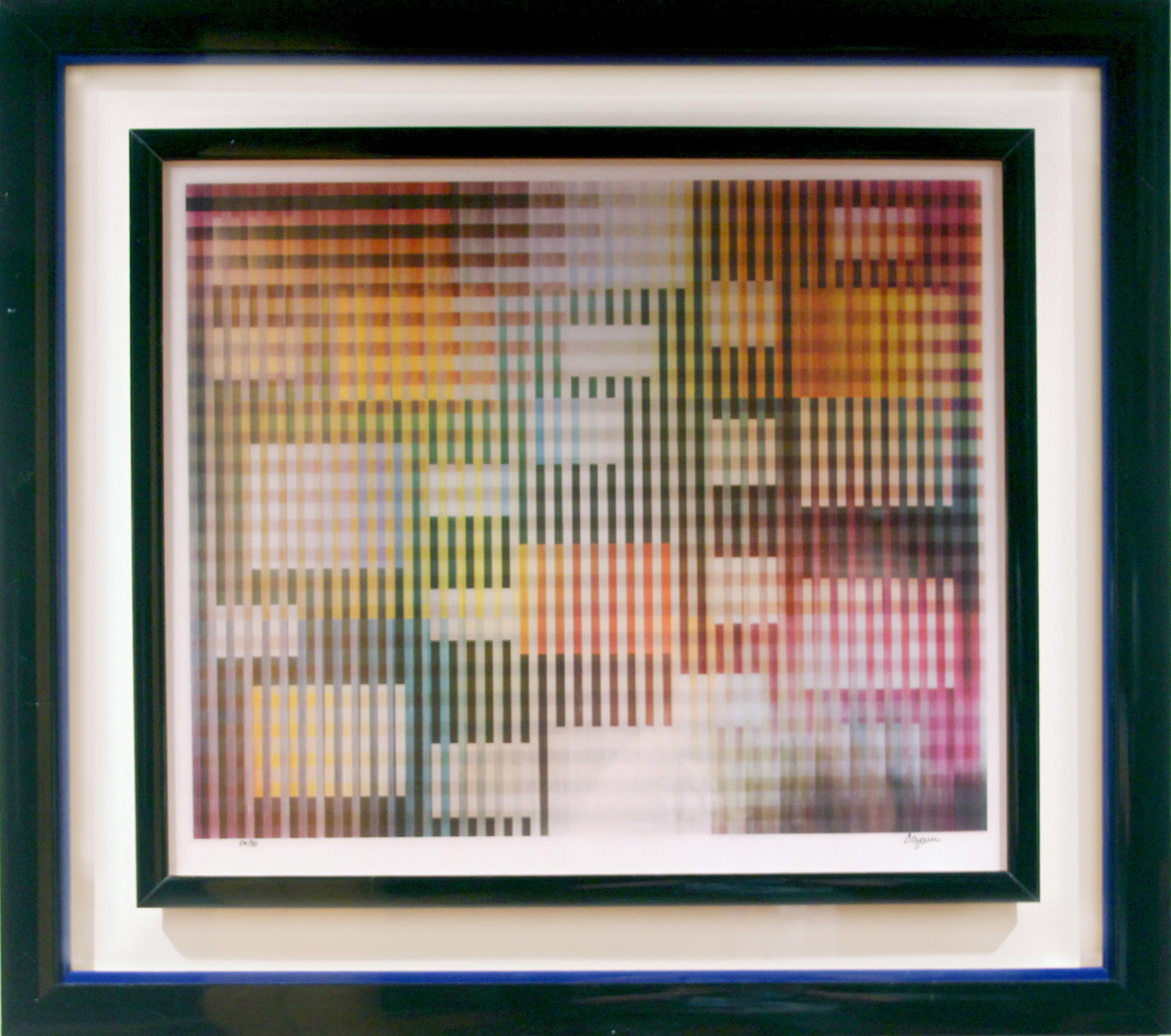 Yaacov Agam, New Years Eve, Agamograph