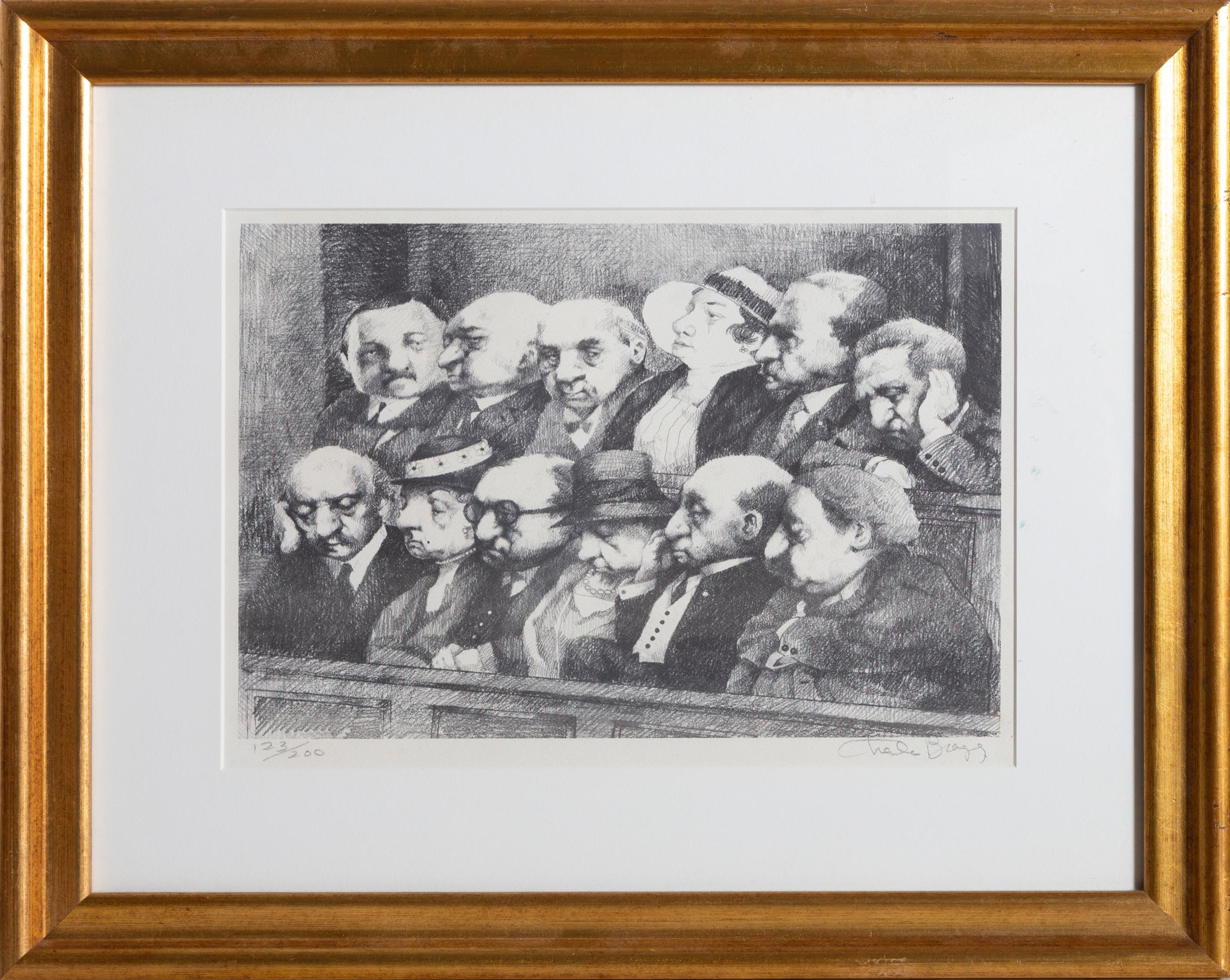 Charles Bragg, Jury, Lithograph