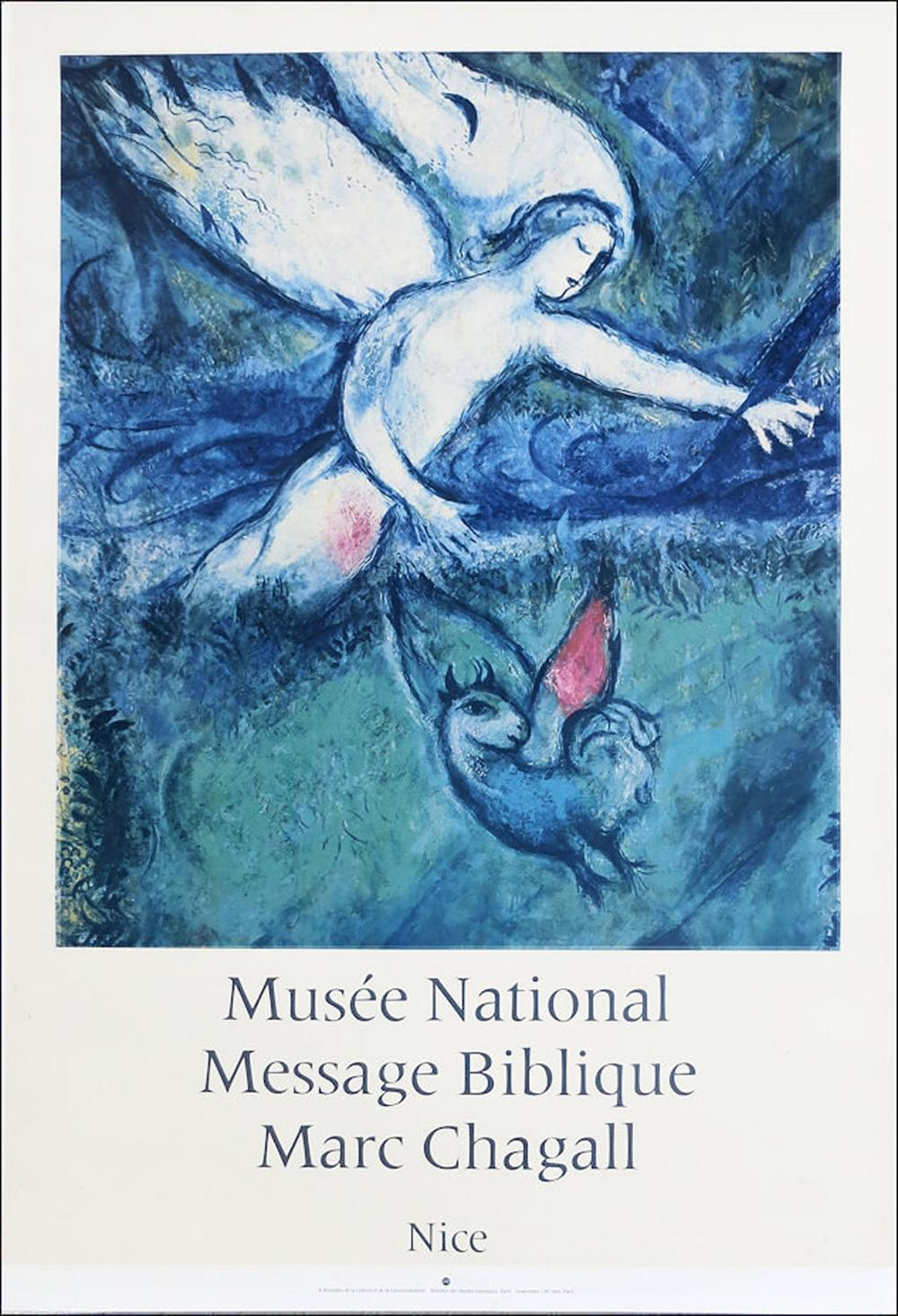 Marc Chagall, Musee National - Message Biblique, Nice, Poster