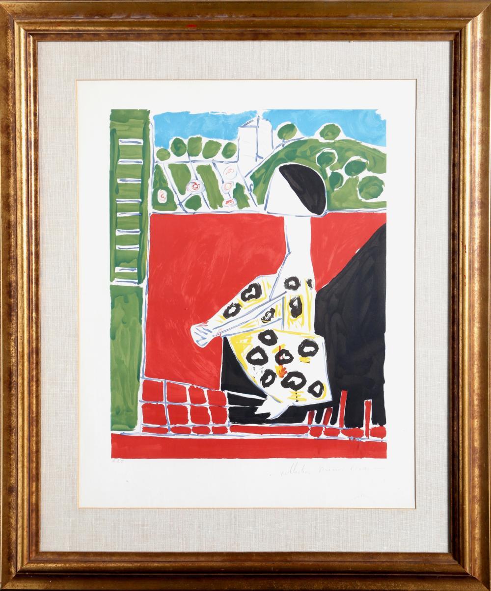 Pablo Picasso, Femme Accroupi, Lithograph