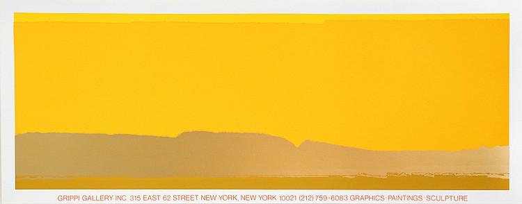Joseph Grippi, Grippi Gallery, Silkscreen Poster