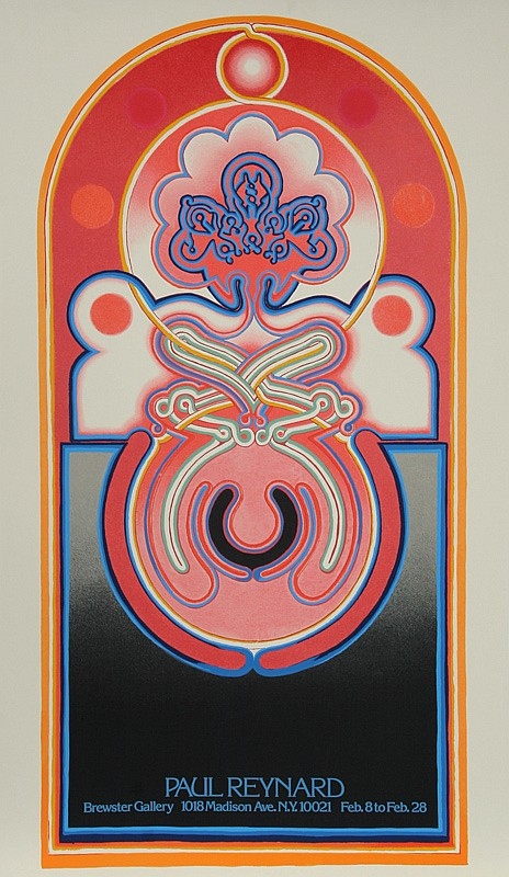 Paul Reynard, Exhibition at Brewster Gallery, Serigraph Poster