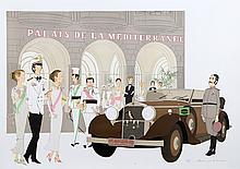 Denis Paul Noyer, Palais de la Mediterranee, Lithograph