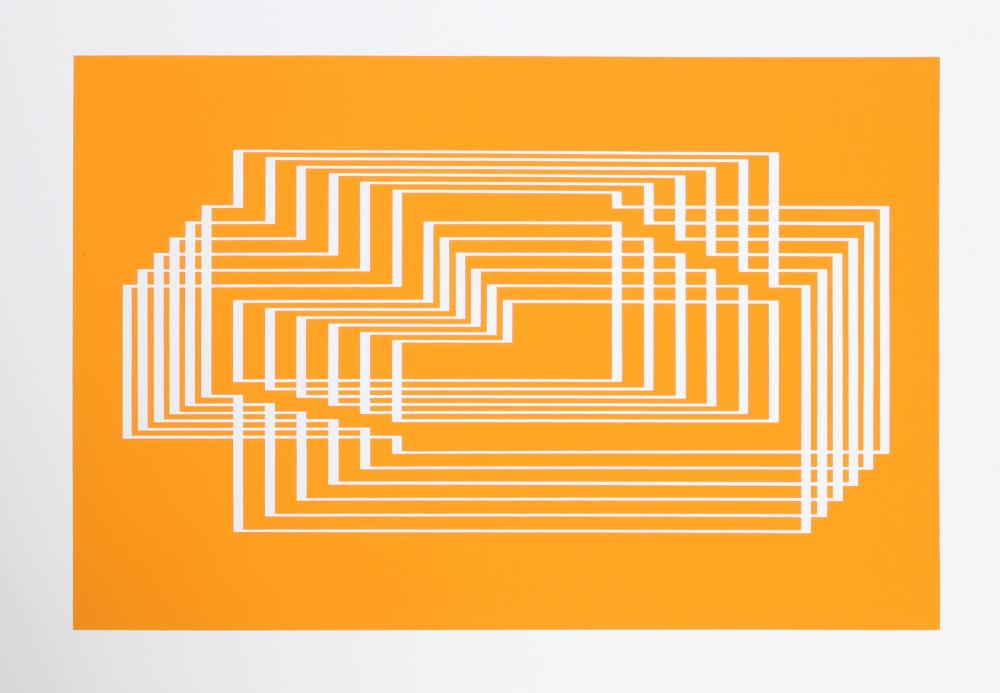 Josef Albers, Screenprint from Formulation: Articulation