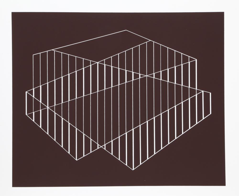 Josef Albers, Screenprint from Formulation: Articulation