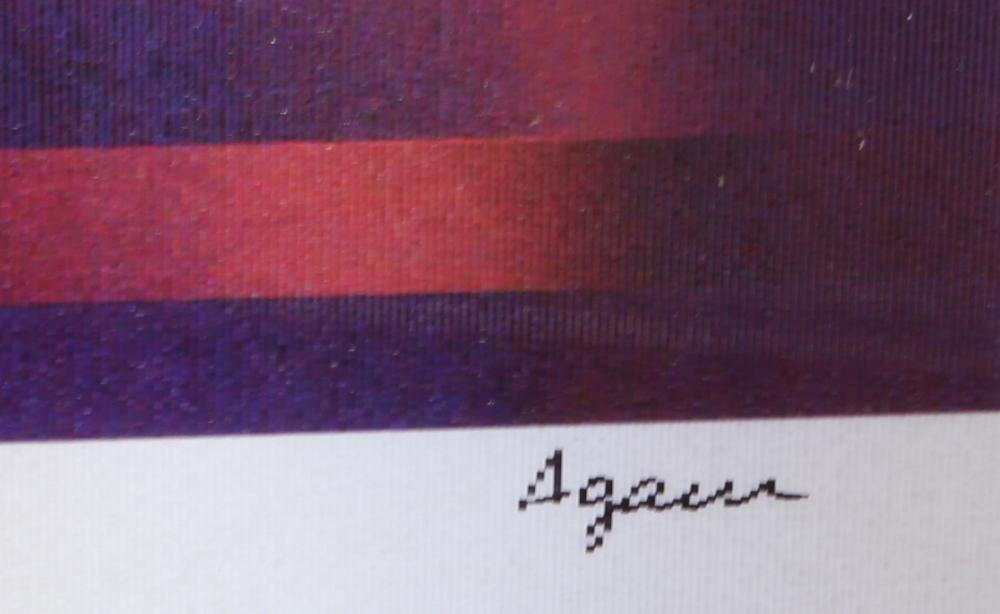 Yaacov Agam, Nine Squares, Agamograph