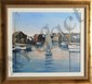 Sally Caldwell Fisher, Old Cape Harbor, Acrylic Painting, Sally Caldwell Fisher, Click for value
