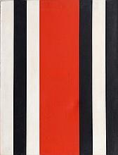 Warner Friedman, Stripes, Oil Painting