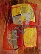 Sara Abbott, Modern Space III, Acrylic Painting, Sara Abbott, Click for value