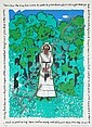 Faith Ringgold, Aunt Emmy, Lithograph, Faith Ringgold, Click for value