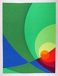 Herbert Aach, Split Infinity #B3S, Silkscreen
