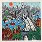 Edward Sokol, Brooklyn Bridge, Serigraph, Edward Sokol, Click for value