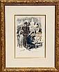Kees van Dongen, Montmartre 1900, Lithograph