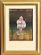 Paul Klee, Bauchredner und Rufer im Moor, Pochoir