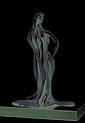 Nili Carasso, Bath-Shevah, Bronze Sculpture