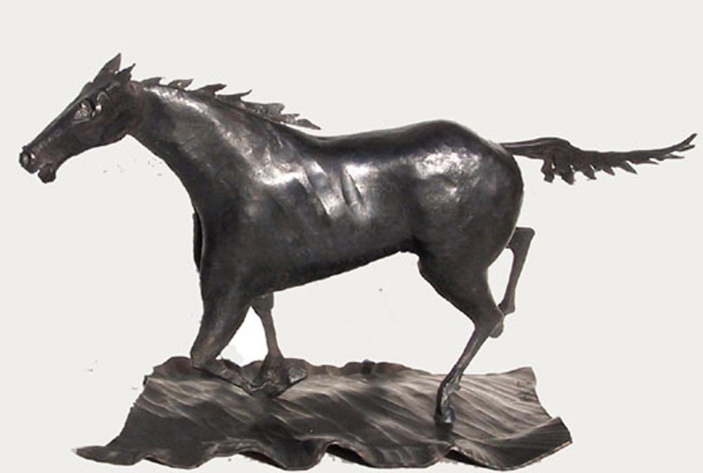 Bernhard Heer, Mustang (Running Horse), Forged Steel