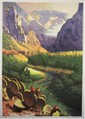 Howard Koslow, River Valley, Lithograph, Howard Koslow, Click for value