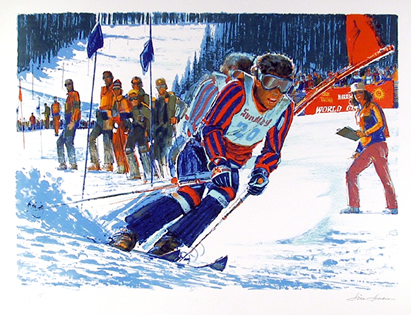Jim Jonson, US World Cup, Lithograph