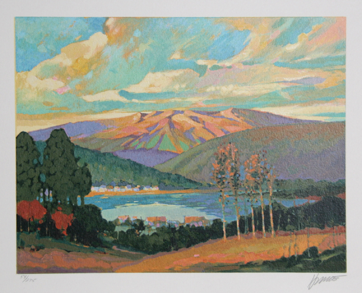 Max Hayslette, Sunrise Suite I, Lithograph