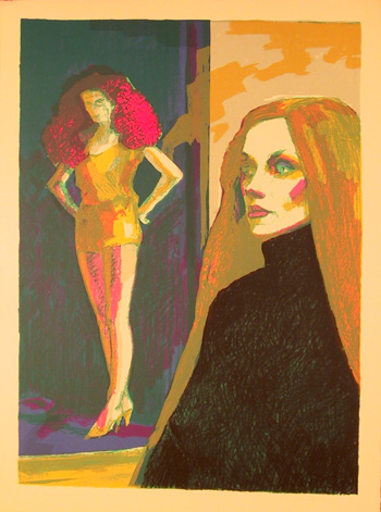 John Hardy, Mannequin, Lithograph