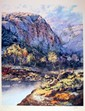 Jorge Braun Tarallo, Western Landscape, Lithograph, Jorge Tarallo, Click for value