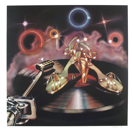 Carmen Console, Disco Shoes, Lithograph