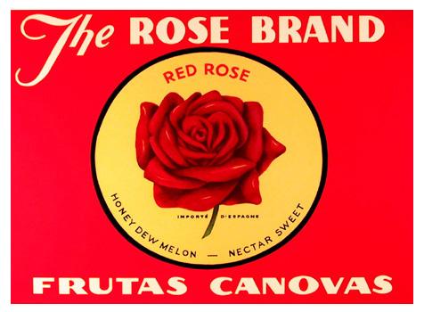 Barbara Cesery, The Rose Brand, Serigraph
