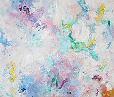Isabel Gamerov, Abstract, Oil Painting